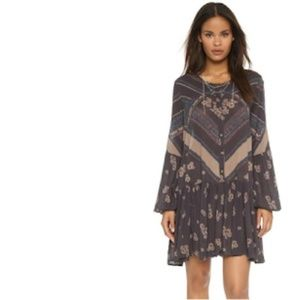 Free People We Heart This Dress Midnight Combo S